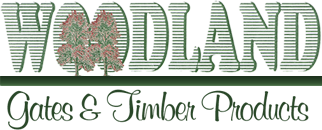 Woodland gates logo